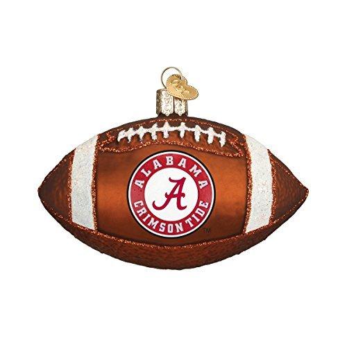Old World Christmas Alabama Football Glass Blown Ornament by Old World Christmas