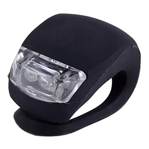 Sanzhileg Impermeable LED Cabeza Delantera Rueda Trasera