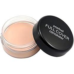 Toamen Popfeel Corrector De Maquillaje Facial Corrector Hidratante Cremoso De La Paleta De La FundacióN (A)