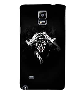 PrintDhaba Joker D-2787 Back Case Cover for SAMSUNG GALAXY NOTE 2 (Multi-Coloured)