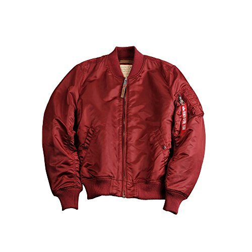 Alpha Industries Damen Bomberjacke rot L