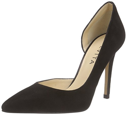 Evita Shoes Damen Pump Pumps, Schwarz (Schwarz 10), 37 EU