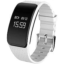 Pulsera Inteligente,AZX, Fitness Tracker,Pulsera Actividad Pulsómetro Impermeable,Smart reloj de