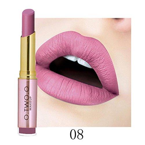Makeup Wasserdicht Sexy Lippenstift Hydrating Long Lasting Lippenstift (Halloween Box Set Billig)