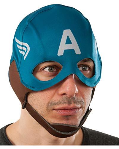Máscara Capitán América paño retro