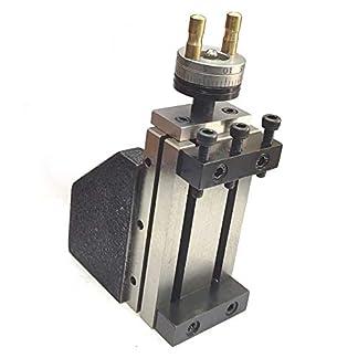 Minicarro fresador (90x 50mm) para proceso de fresado inmediato en torno