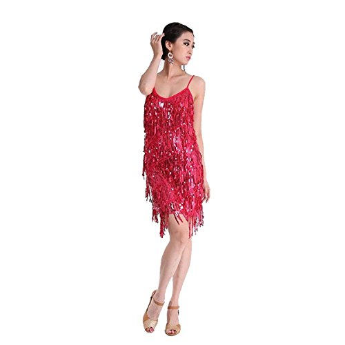 Best Dance Damen Morgenmantel Dunkelrosa