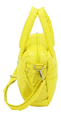 F23, Stepp-Mini-Weekender, 33 x 11 x 23 cm, 8 Liter, Inkl. Längenverstellbarer Schultergurt, Susa Regenauer, Gelb, 70004-6 gelb
