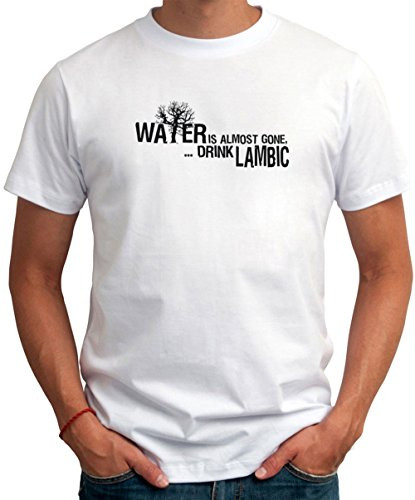 water-is-almost-gone-drink-lambic-drinks-t-shirt