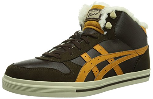 Onitsuka Tiger AARON MT Unisex-Erwachsene Hohe Sneakers Braun (DARK BROWN/TAN 6271)