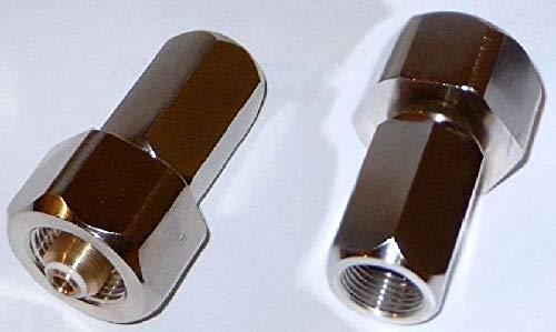 HTD Adaptateur fileté 300 Bar W30 intérieur oxygène/hélium sur Filetage intérieur G5/8 300 Bar