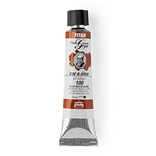 Oil Titan Goya Red Farben - Rohr 6-20 ml, 100-Red Englischkurs