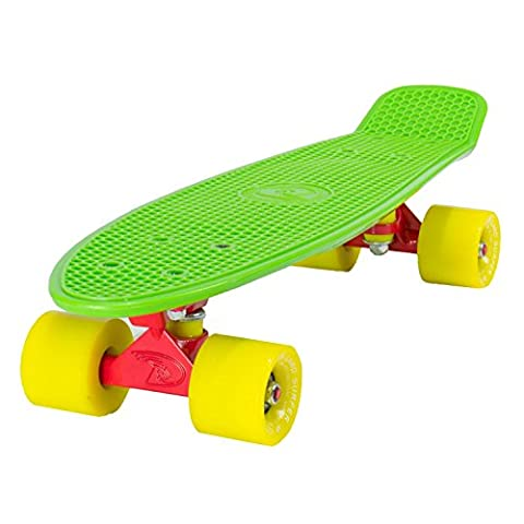 Land Surfer GREEN DECK + YELLOW SOLID WHEELS