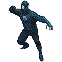 Disfraz Spiderman negro adulto - Único, XXL