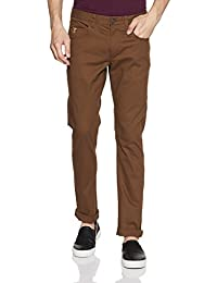 US Polo Association Men's Straight Fit Casual Trousers