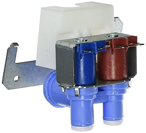 WR57X10051 Double Solenoid Water Valve REPAIR PART FOR GE. AMANA. HOTPOINT. KENMORE AND MORE by GE