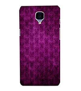 ONE PLUS 3 PATTERN Back Cover by PRINTSWAG