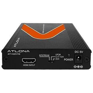 Atlona AT-HD570 - HDMI (1.3) Audio De-Embedder - Atlona HDMI (1.3) Audio De-Embedder with 3D Support