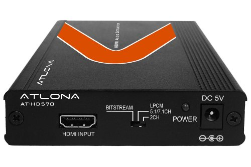 Atlona AT-HD570 Video Extender - 1 x 1 - 20 m Atlona Hdmi Extender
