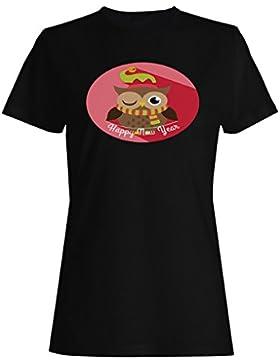 FELIZ NAVIDAD XMAS FUNNY NOVEDAD NUEVO camiseta de las mujeres -l64f