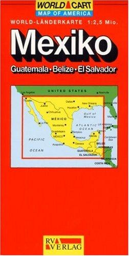 Carte routière : Mexique
