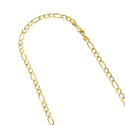 10k-30-yellow-solid-gold-6mm-diamond-cut-figaro-chain-link-necklace-with-lobster-clasp
