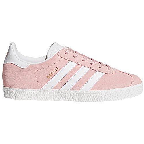 Scarpe Donna Adidas Gazelle Rosa e Blu. Sneaker Icey Pink/White/Gold Metallic