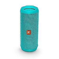 JBL Flip 4 Bluetooth Box - Wasserdichter, tragbarer Lautsprecher mit Freisprechfunktion und Alexa-Integration - Bis zu 12 Stunden Wireless Streaming mit nur einer Akku-Ladung Petrol