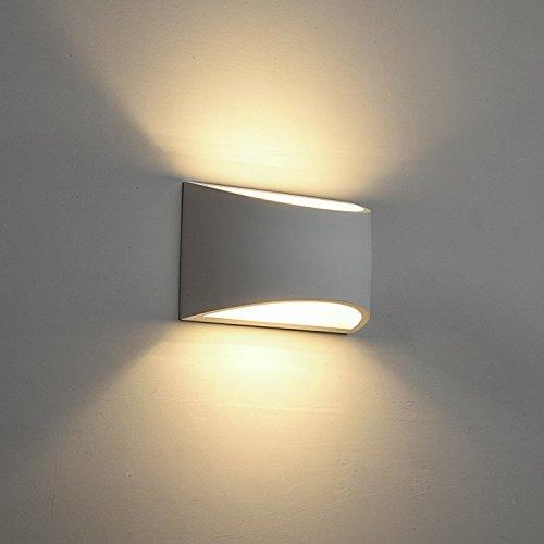 Applique da parete a LED Intonaco Applique Applique su giù ...