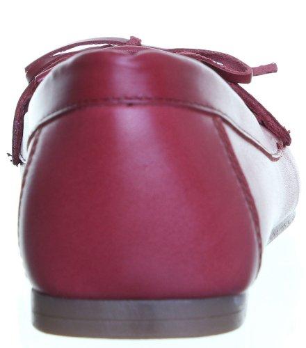4Pieds 6994avec mallette en cuir unisexe chaussures Mat Rouge - Bordeaux