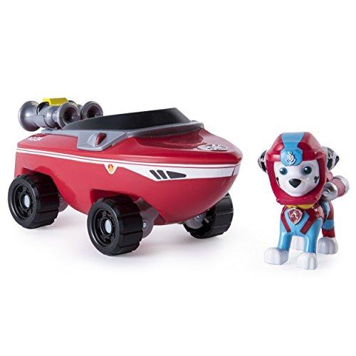 Paw Patrol : Sea Patrol – Marcus – Figurine & Véhicule de la Pat' Patrouille Marine