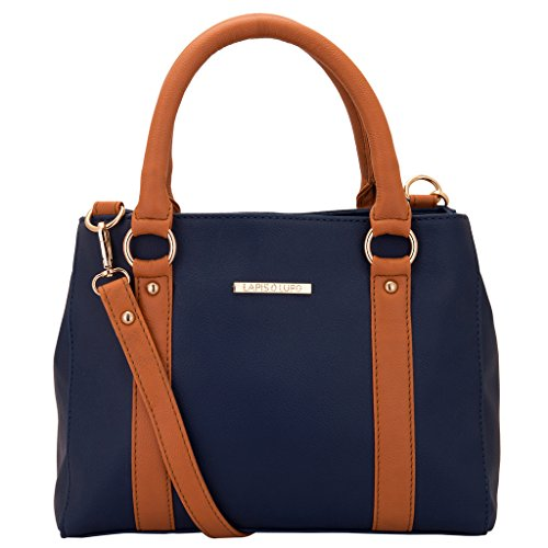Lapis O Lupo Women\'s Blue Handbag ( Blue ,Llhb0013Bl)
