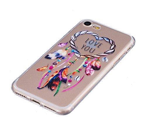 Meet de Slim de Protection Téléphone Case pour iphone 5S /iphone SE, iphone 5S /iphone SE Bumper Case Coque, (motifs peints) iphone 5S /iphone SE Slim TPU Transparent Silicone Housse Etui pour iphone  HX1-A09