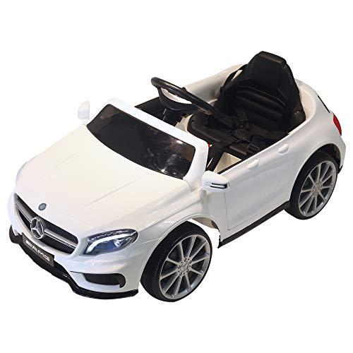 HOMCOM Coche Eléctrico para Niño 3-8 Años Automóviles Infantiles Mercedes Benz GLA...