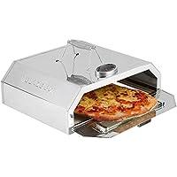 Blaze Box - Horno para Pizza BBQ con Indicador de Temperatura, Ideal para Jardines al Aire Libre, Barbacoas y Parrillas de gas