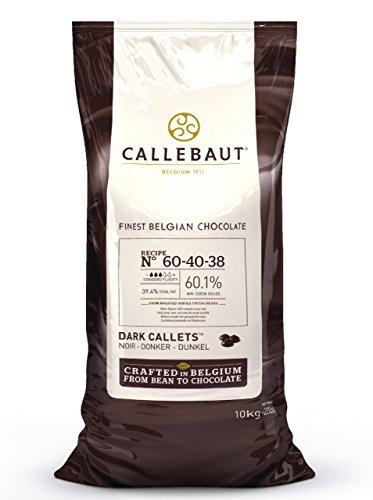 Callebaut 60,1% - Gocce di Cioccolato Fondente (callets) 10kg