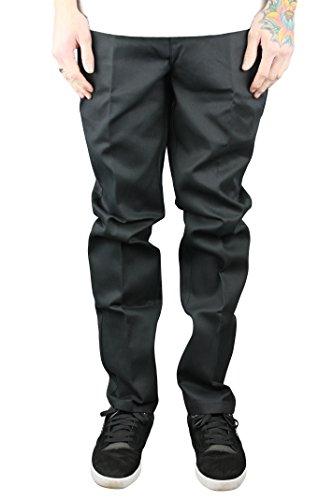 Dickies WE872da uomo Slim Fit Lavoro Pantaloni Nero pantaloni chinos Black 34 W Regular