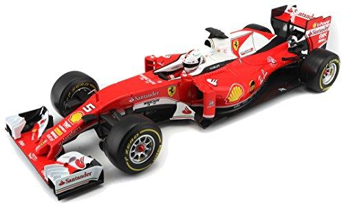 221cd45600f Bburago 18-16802, Maqueta de Coche Ferrari de la F1 a escala 1: