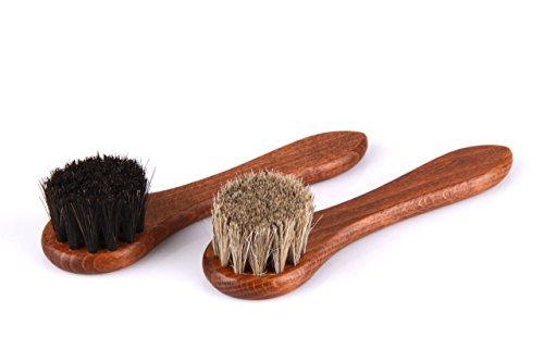 Set 2 piezas cepillos cacerola - Cepillo aplicar crin