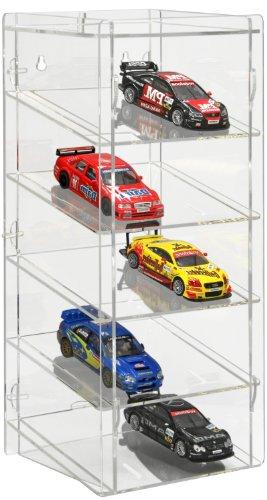 SORA Torretta espositiva per slot-cars in scala 1:32 con pannello posteriore trasparente