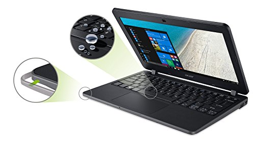 Acer TravelMate B117 B117 M P4VH 295 cm 116 Zoll HD Notebook Intel Pentium N3710 4 GB RAM 128 GB SSD Intel HD Graphics Win 10 family home schwarz Notebooks