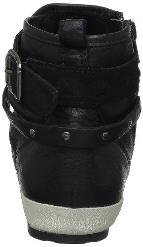 Geox Donna Savannah, Baskets Mode Damen Noir (C9999)