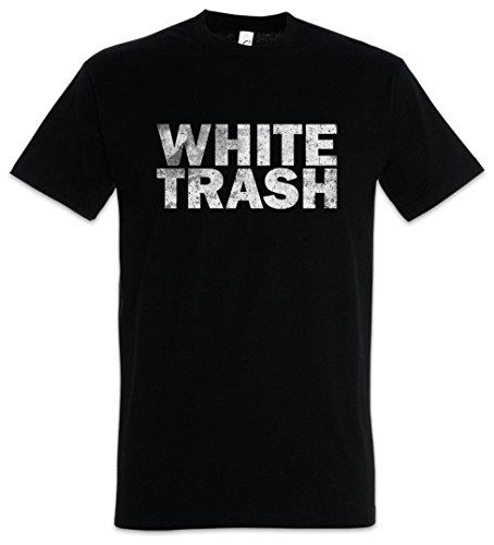 White Trash T-Shirt – Hillbilly Redneck Outlaw Südstaaten USA Vereinigte Staaten Größen S – 5XL