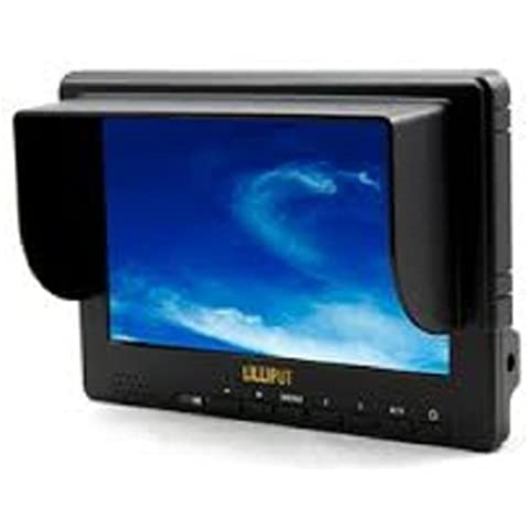 Lilliput 7-inch 667gl-70np/h/y Hdmi Field Camera Monitor Ypbpr Input For Cameras and Video Cameras by Lilliput