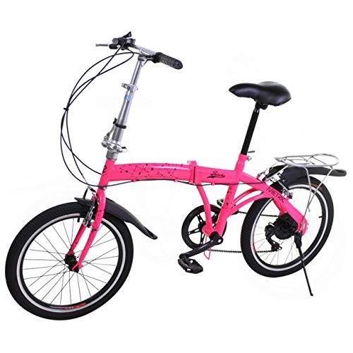 Riscko Metric Bicicleta Plegable Unisex con Ruedas