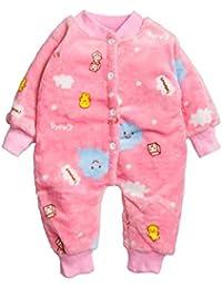 d6ac22e30a0 Kidofash Premium Quality Animal Printed Soft Cotton Fleece Sleepsuit  Sleepware Nightwear Romper Set Jumpsuit for Baby Boys Baby…