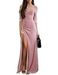 Aleumdr Mujer Vestido de Noche Falda Elegante para Fiesta Vestido de Moda Size S-XL