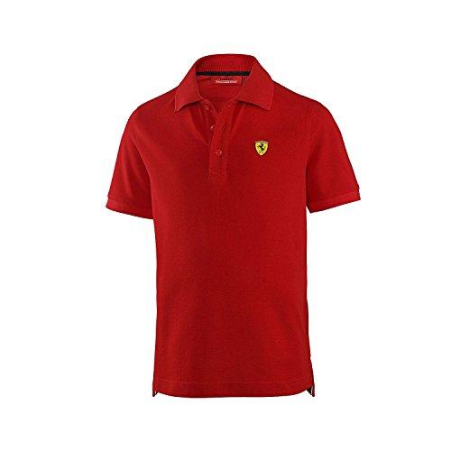 Ferrari Classic Shield Poloshirt - Rot - Mittel