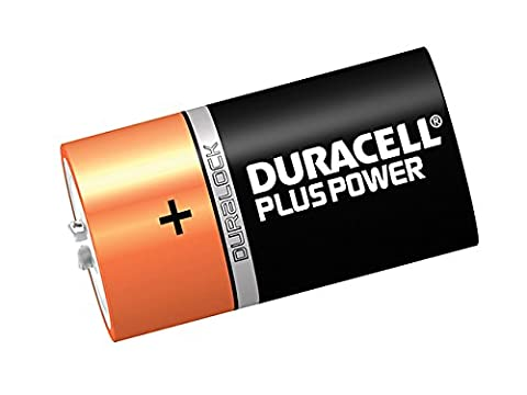 Duracell - D Cell Plus Power Batteries Pack of 2 LR20/HP2 - DURDK2P