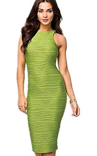robe de cocktail moderne Vert